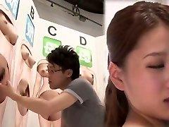 čudovito japonski kurba v noro fingering, cunnilingus jav film