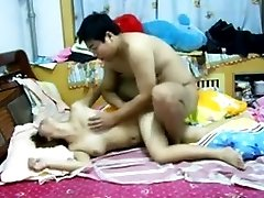 Chinese Couple Having Sex