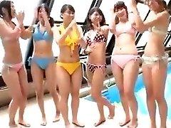 Japanese - teens pool party