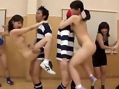 őrült japán modell ai uehara, saki kanasaki egzotikus csoport szex, kis mellek jav jelenet