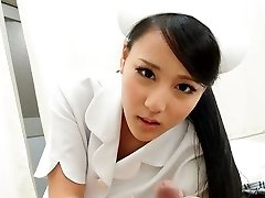 Sizzling Nurse Ren Azumi Ravaged By Patient - JapanHDV