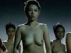 Meztelen Kínai harci lányok