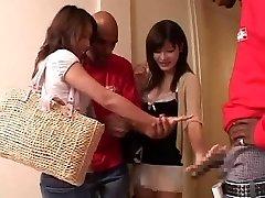 ázsiai lányok szopni, interracial