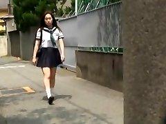 Rejtett kamera akció, magán tanár szórakozik a forró busty diák