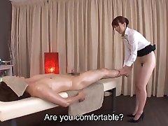 Subtitles Yui Hatano bottomless Japanese rubdown