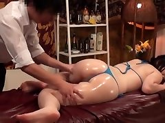 Slimming Massage for Busty Asian Wives - Two