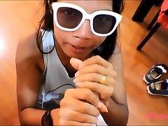 Kicsi Ázsiai Tini Heather Mély Anális Creampie Deepthroating
