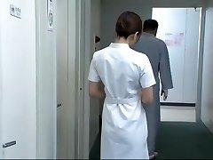 Hottest Japanese model Aya Kiriya, Mirei Yokoyama, Emiri Momoka in Exotic Nurse JAV video