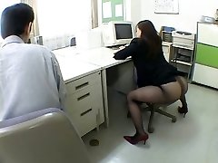 Japanese office gal drives me insane by airliner1