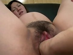 Asian Meaty Pussy Fisting