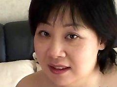 44yr elder Chubby Busty Japanese Mom Covets Cum (Uncensored)