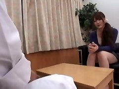 Horny Asian girl Momoka Nishina in Sexy Medical JAV movie