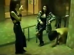 Japanese mistress metro spank