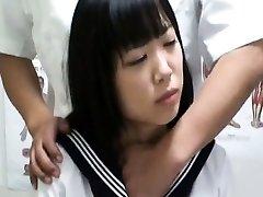 Spycam Schoolgirl ejaculation Massage 1