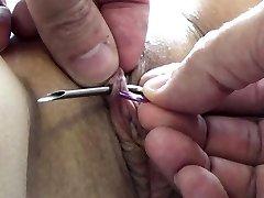 Ekstremalne tortury BDSM igły i Electrosex gwoździe i igły