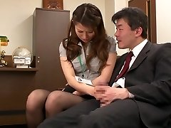 Nao Yoshizaki in Lovemaking Victim Office Lady part 1.2