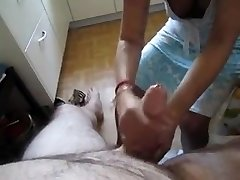 happy holiday Hand Job from chinese maid