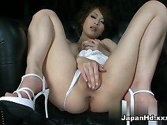 Nasty pornstar Saki Ootsuka in Best Solo Girl, Dildos/Toys porn clamp