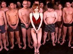 Yuria Satomi in Dream Chick 91 part 2.Trio