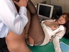 Amazing Japanese slut Ria Horisaki in Hottest Rimming, Stockings JAV sequence