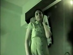 Indian school girl homemade bang-out tape