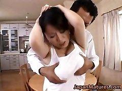 Miki Sato real asian mum has bang-out part5