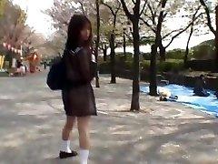 Mikan Unbelievable Asian schoolgirl enjoys part1