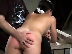 Electroplay Slapping And Masturbation