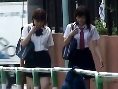 Japanese Underpants-Down Sharking - Students Pt Two- CM