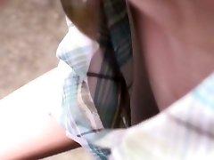 adorabil fata asiatice devine filmat de voyeuri