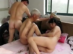 Asian Grandfathers in Action
