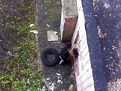 Spy cams voyeur public tear up girl