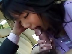 Horny Chinese dame Miu Katahira in Best Car, POV JAV clip