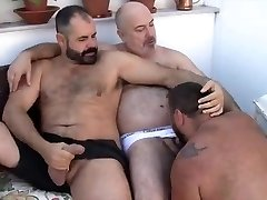 Hunk threesome