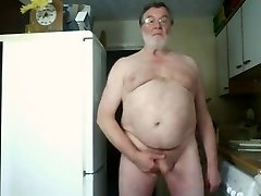 Morning Wank and Cum on Webcam