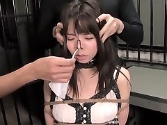Exotic Asian model in Finest Fetish, BDSM JAV clip