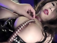 Magnificent Japanese woman in Amazing Threesome, BDSM JAV scene