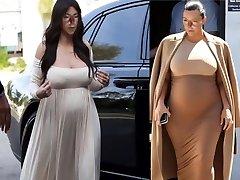 Sexy Knocked Up Shemale Marisa Kardashian
