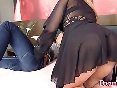 Luscious Shemale Sa Fontenelle Takes a Rock Hard Cock Up Her Rump Hole
