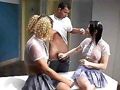 Tranny Threesome