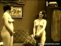 vintage 1920 real sex in grup cu batrani adolescenti (1920 retro)