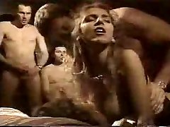 French Retro Gangbang in Motel Bedroom by TROC