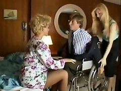 Sharon Mitchell, Jay Pierce, Marco in antique sex scene