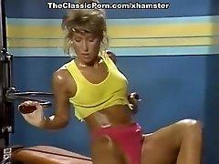 Melissa Melendez, Taija Rae, Candie Evans in old-school pornography