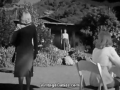 Hot Ladies in the Nudist Resort
