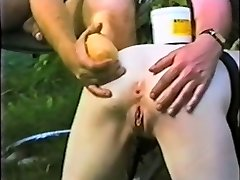 Submissive slave maid rump distroyed