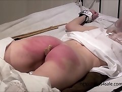 Petite Victorian nymph getting a hard punishment