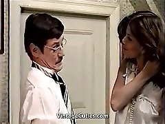 Cute Latina Maid and Her Filthy Boss (1970s Vintage)
