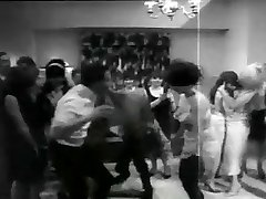 retro striptease party
