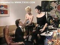 Amazing homemade Threesomes, Cunnilingus sex movie